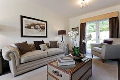 Stylish living spaces at luxurious Charles Church homes http://bit.ly/1uUV95I