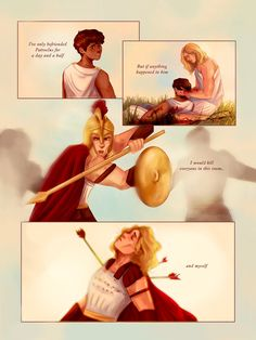 Greek Mythology Humor, Greek And Roman Mythology, Greek Gods, The Song Of Achilles, Achilles And Patroclus, Fanart, Fangirl Problems, Ancient Greece, Book Characters