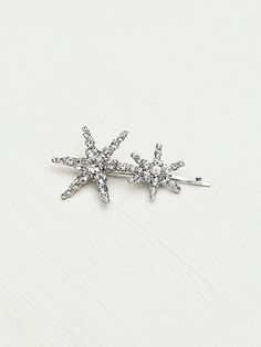 Star Bobby Pins by Jennifer Behr