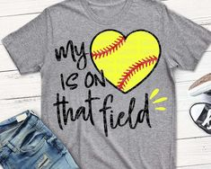 softball svg softball Mom SVG my Heart is on that field svg softball Mama svg softball shirt Mom SVG softball Grandma svg eps - Mom Shirt - Ideas of Mom Shirt - Sports Mom Shirts, Softball Mom Shirts, Softball Cheers, Softball Crafts, Softball Bows, Softball Pitching, Softball Quotes, Girls Softball, Softball Players
