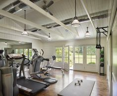 Basement gym gym lighting, indoor gym, heim, pool houses, dream home gy Dream Home Gym, Best Home Gym, Home Gym Design, House Design, Gym Lighting, Indoor Gym, Home Gym Decor, Basement Gym, Garage Gym