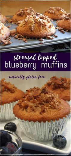 These fruity muffins are moist, crumbly, & bursting with juicy blueberries! Perfect for Pesach (Passover), they're free from gluten and grains and are delicious at any time.