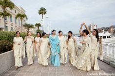 indian wedding bridesmaids dresses http://maharaniweddings.com/gallery/photo/7228