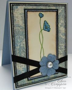 MMSC35 JUGS15 Oh So Lovely Card for Grandma by CherCroppin - Cards and Paper Crafts at Splitcoaststampers