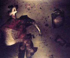 """:: VICTOR CHAB :: """"Toreador"""" - 1988 - collage y óleo sobre tela - 150 x 180 cm"""