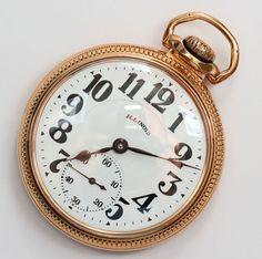 C 1926 Antique 21J Illinois Bunn Special Sixty Hour Railroad Grade Pocket Watch | eBay