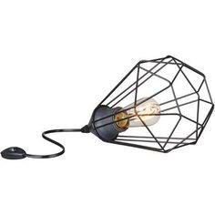 Eglo vintage tafellamp Tarbes zwart | Praxis