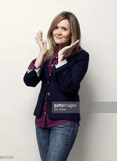 Canadian actress and author Samantha Bee is photographed for Toronto Life on January 9, 2014 in New York City.
