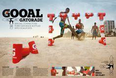 Goool Gatorade - Paulo Ribas {Art Director}