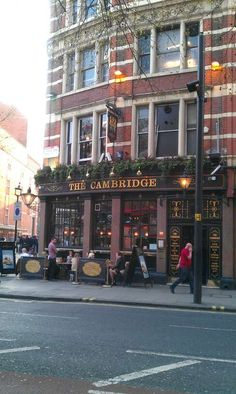 The Cambridge at Cambridge Circus Charing Cross Rd. Good meeting place - used to have a pool table upstairs (30 years ago) Once had my purse stolen here!