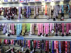 UPTOWN PETS BOUTIQUE JUST RECEIVED OUR SPRING AND SUMMER DOG COLLARS, ALL SIZES AND COLORS