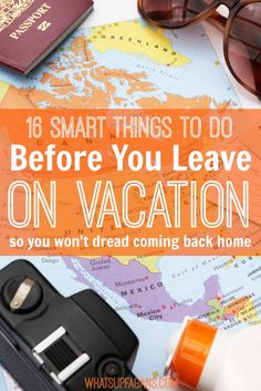 These are smart ideas! I'll be doing these before I travel along with packing for my next vacation trip. Love the free checklist printable.
