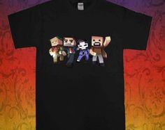 Minecraft Game Hero - t shirt