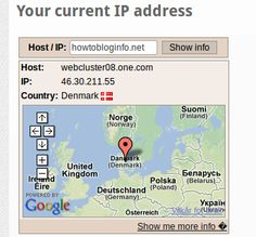 Find your server IP address and location!