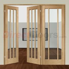 Image of Easi-Frame Oak Door Set, GOWOR-COEOP19R, 2005mm Height, 2194mm Wide.