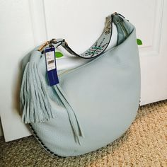 Rebecca Minkoff Hobo Bag New with tag. Color: Light Turq Rebecca Minkoff Bags Hobos
