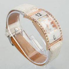 Arc Shape  Watch White  If you want to get a watch for your daily use, this kind of timepiece will be your best solution. It is the most fashionable and innovative design for this year. It is made with innovative and high technology which provides precise time-keeping compared with the other watches. ...
