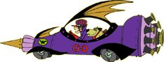 #47 The Mean Machine 00 from Wacky Races