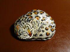 Peinture acrylique sur pierre :-)