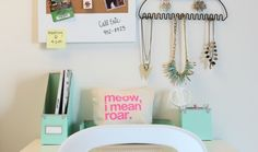 6 Must Have items to Organize Your Desk