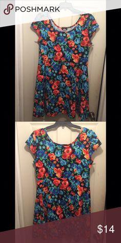 2da9eff79e0 Plus Size Skater Style Dress Floral Skater Style Dress. Tag says 3X