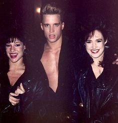 Paul Lekakis Tour & Dancers 1980's NY / Facebook