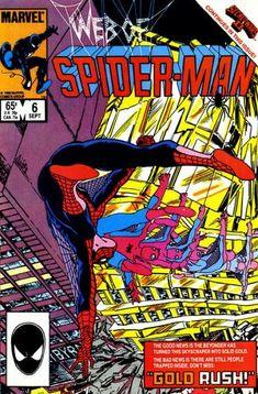 Web Of Spider-Man #6 (Marvel Comics; 1985 Series).