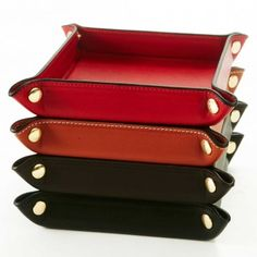 Hunt Trinket Tray - Desk Accessories - Home | Hunt Leather