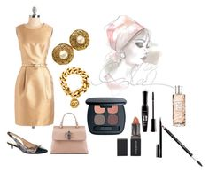 """""""Untitled #242"""" by vintagelady52 ❤ liked on Polyvore featuring AERIN, Gucci, Chanel, Bare Escentuals, Smashbox, Bourjois, Givenchy, NARS Cosmetics and Christian Dior"""
