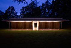 Capel Manor House Guest Pavilion  Horsmonden, United Kingdom  A project by: Ewan Cameron Architects
