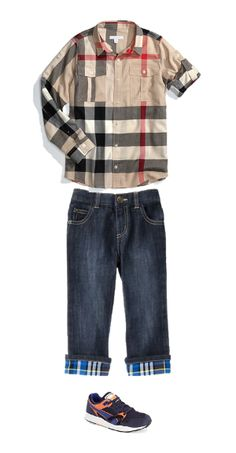 Burberry Kid's Outfits from GlooKids.com