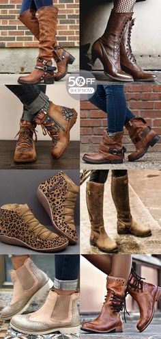 Casual women's boots hot now! New year gift for yourself>> Shop now>> - New Site Womens Boots On Sale, Boots For Sale, Chariot Courses, Fashion Shoes, Fashion Outfits, Womens Fashion, Heels Outfits, Dame, Satin Shoes