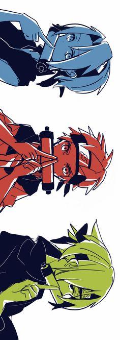 Sakura,Naruto, and Sasuke