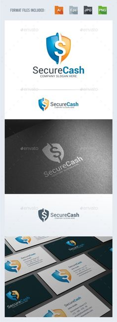 Secure Cash Logo Template Vector EPS, AI. Download here: http://graphicriver.net/item/secure-cash-logo-template/15321569?ref=ksioks