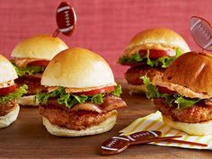 Triple Pork Sliders #BigGame