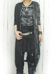 Leopard Distressed Long Cardigan / See more at http://www.cdjapan.co.jp/apparel/new_arrival.html?brand=DRT #Japan Fashion #harajuku