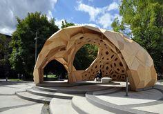 The is an amazing structure!  Computerbasierte Planung und robotische Fertigung | Architecture bei Stylepark