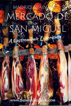 A Gastronomic Experience while visiting Mercado de San Miguel in Madrid with kids. Read what this historic market has to offer visitors. Spain with kids.