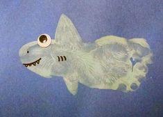 Image result for hand print shark