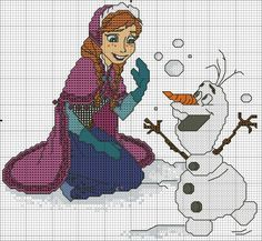 DeviantArt is the world's largest online social community for artists and art enthusiasts, allowing people to connect through the creation and sharing of art. Frozen Cross Stitch, Cross Stitch For Kids, Cross Stitch Books, Cross Stitch Needles, Cross Stitch Baby, Cross Stitch Charts, Disney Stitch, Disney Cross Stitch Patterns, Cross Stitch Designs