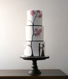 Bellísimas tartas de boda para que os sirvan de inspiración.