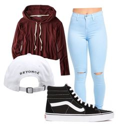 """Chill outfit"" by dtrapqueen on Polyvore featuring American Eagle Outfitters and Vans"