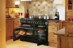 Rangemaster Excel 110, Dual fuel, Induction, Ceramic range cooking from Rangemaster