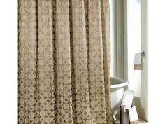 Gold Metallic Shower Curtain