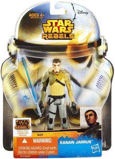 STAR WARS : Costumes and Toys : Star Wars Action Figure - Star Wars Rebels - Kanan Jarrus