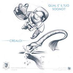 Il tuo desiderio di fare l'astronauta o trasformarti in una sirenetta non si è realizzato? Nel 2016 CREA IL TUO SOGNO in MUSICA, GRAFICA, FUMETTO, ILLUSTRAZIONE Scopri il tuo talento, realizza i tuoi piccoli o grandi sogni... L'Arte è per tutti! Let's Dalì! :) Arts for all - since 2003