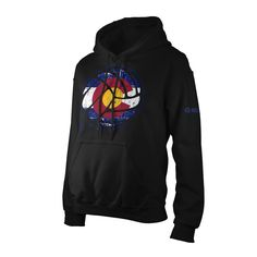 ColoradoBall Hooded Sweatshirt #colorado #volleyball #apparel