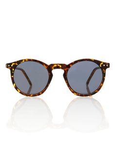 3c5ad74606 O Malley Sunglasses Tortoise Round Frame Smoke Lens Glasses Mens Sunglasses