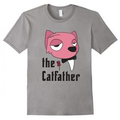 The Catfather - The Godfather movie funny cat pun t-shirt