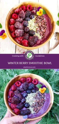 Just because it's winter, it doesn't mean you can't fall into fruit. While summer is when fruits—berries, peaches, and melons—are at their seasonal best, you can rely on frozen fruits during the cooler months to fuel your diet with flavor and nutri Smoothie Bowl Vegan, Berry, Filling Snacks, Frozen Fruit, Nutritious Meals, Plant Based Recipes, Peaches, Vegan Gluten Free, Diets